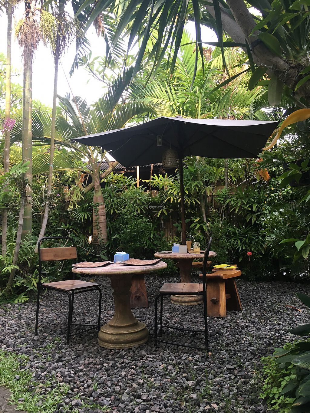 "Photo of Tasty Vegan - Seminyak  by <a href=""/members/profile/BastianSteinbach"">BastianSteinbach</a> <br/>Seats outside <br/> March 7, 2018  - <a href='/contact/abuse/image/29016/367745'>Report</a>"