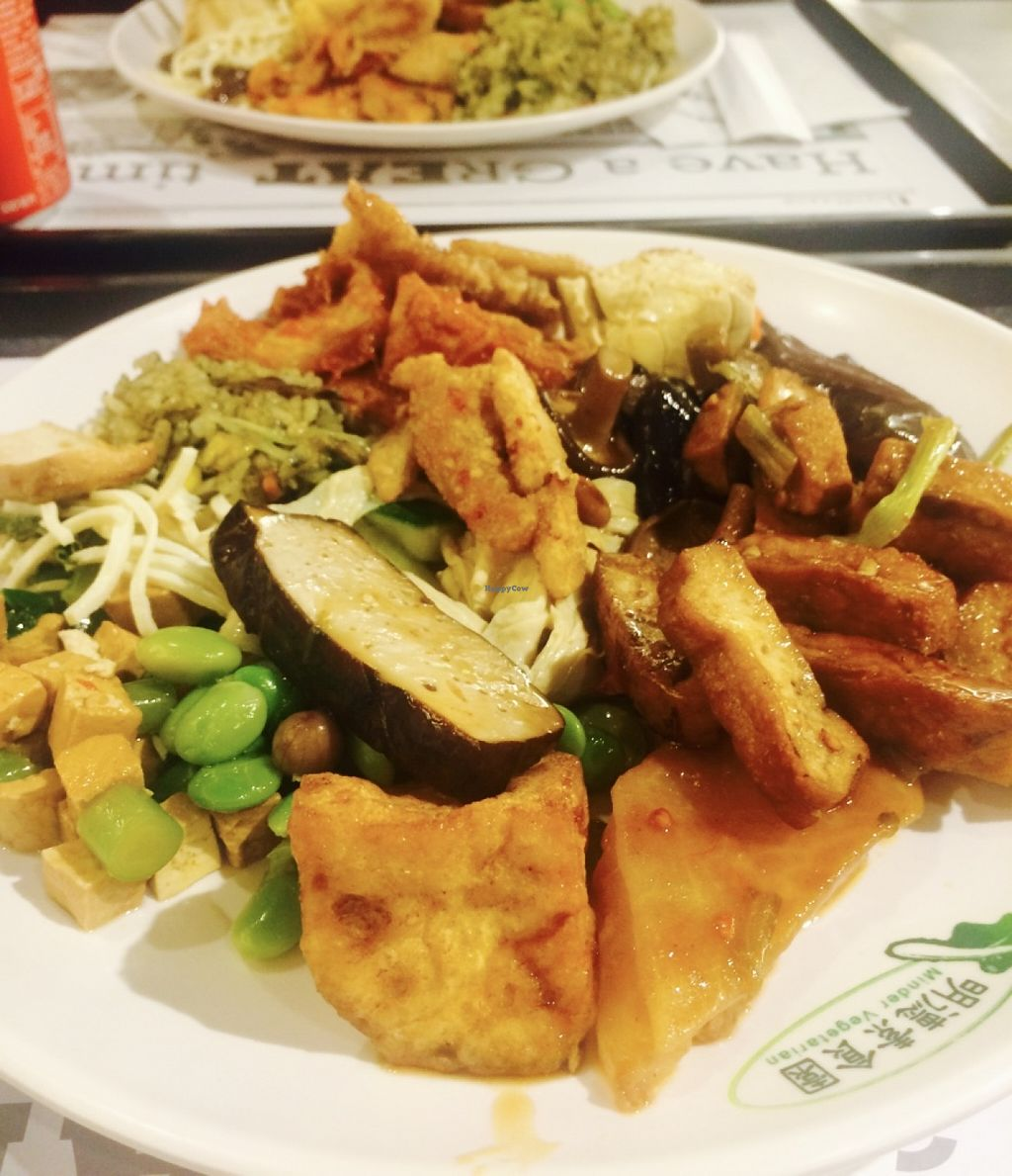 """Photo of Minder Vegetarian - Q Square Mall  by <a href=""""/members/profile/Pitaya"""">Pitaya</a> <br/>Lots of different kind of tofu in the buffet <br/> June 11, 2016  - <a href='/contact/abuse/image/29036/153496'>Report</a>"""