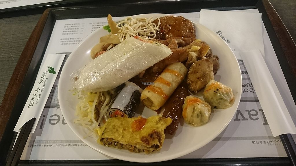 """Photo of Minder Vegetarian - Q Square Mall  by <a href=""""/members/profile/PeterSong"""">PeterSong</a> <br/>Another day at Minder restaurant with a plate full of yummy vege foods! :D <br/> November 16, 2016  - <a href='/contact/abuse/image/29036/190857'>Report</a>"""