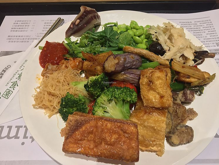 """Photo of Minder Vegetarian - Q Square Mall  by <a href=""""/members/profile/KerriOnotera"""">KerriOnotera</a> <br/>tasty meal for 120 TWD <br/> June 14, 2017  - <a href='/contact/abuse/image/29036/268896'>Report</a>"""