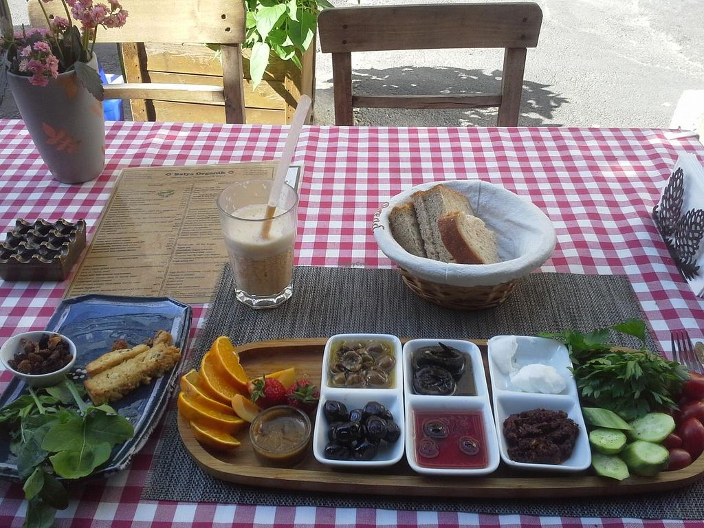 """Photo of Balya Organik Cafe  by <a href=""""/members/profile/smalak"""">smalak</a> <br/>vegan breakfast <br/> June 21, 2015  - <a href='/contact/abuse/image/29048/106694'>Report</a>"""