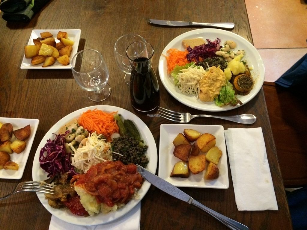 """Photo of La Pierre Vive  by <a href=""""/members/profile/KarenLouiseFletcher"""">KarenLouiseFletcher</a> <br/>Our vegan meal  <br/> October 19, 2016  - <a href='/contact/abuse/image/29062/182944'>Report</a>"""