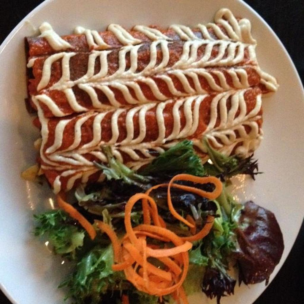 """Photo of CLOSED: Body Cafe  by <a href=""""/members/profile/mbentz"""">mbentz</a> <br/>raw enchiladas <br/> May 25, 2014  - <a href='/contact/abuse/image/29065/70746'>Report</a>"""