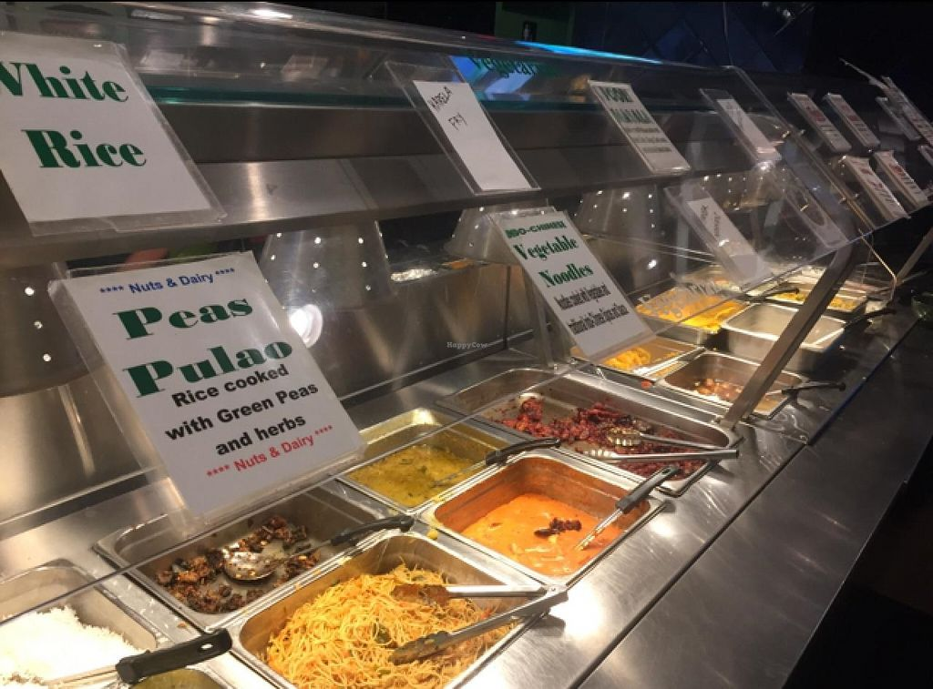 "Photo of Minerva Indian Cuisine  by <a href=""/members/profile/Hyperbelly"">Hyperbelly</a> <br/>vegetarian side of the buffet <br/> February 8, 2015  - <a href='/contact/abuse/image/29073/92597'>Report</a>"