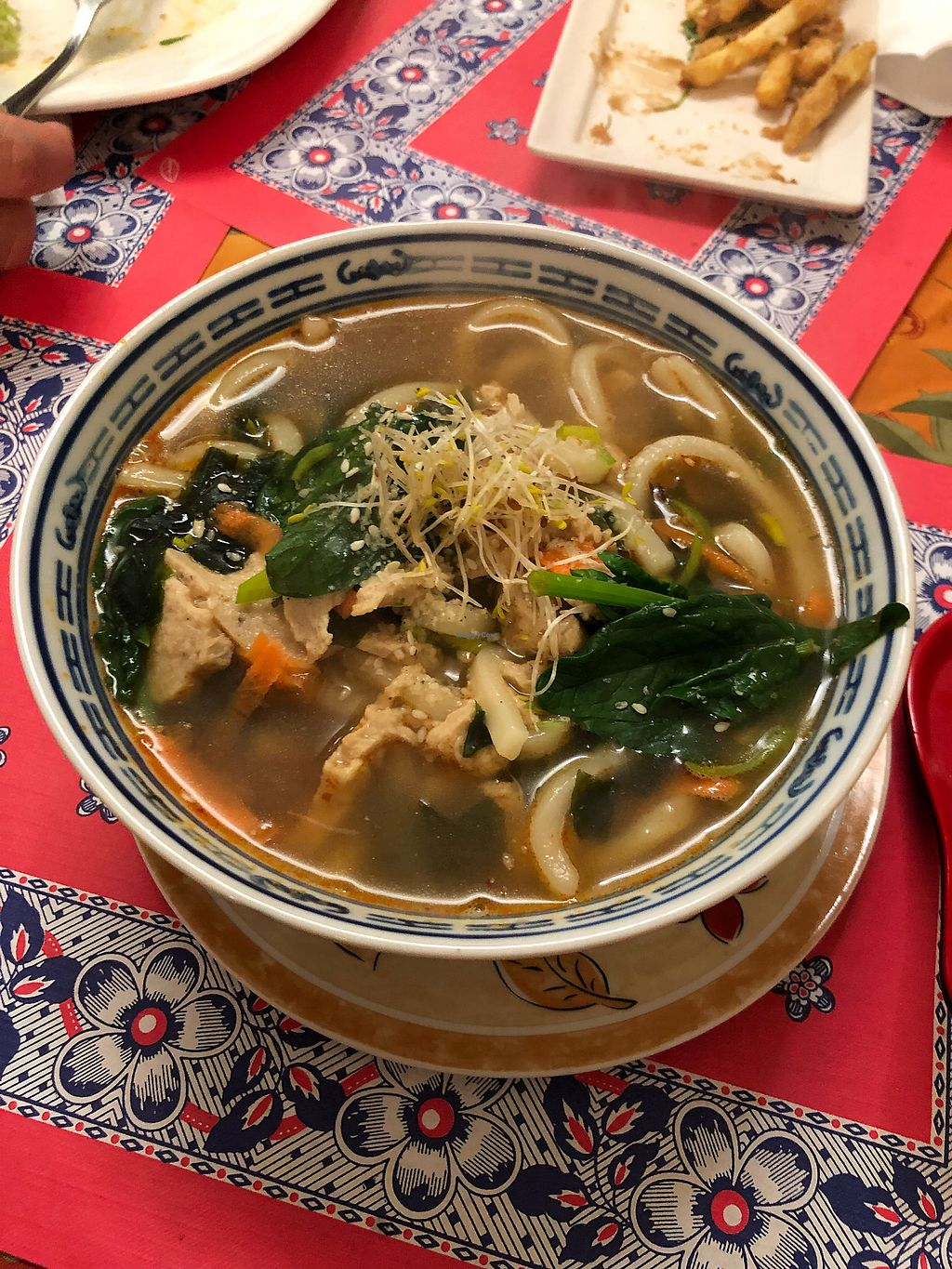 """Photo of TerraZen Centre  by <a href=""""/members/profile/SkittenSmuggler"""">SkittenSmuggler</a> <br/>Noodle soup with extra chicken added  <br/> January 21, 2018  - <a href='/contact/abuse/image/29084/349429'>Report</a>"""