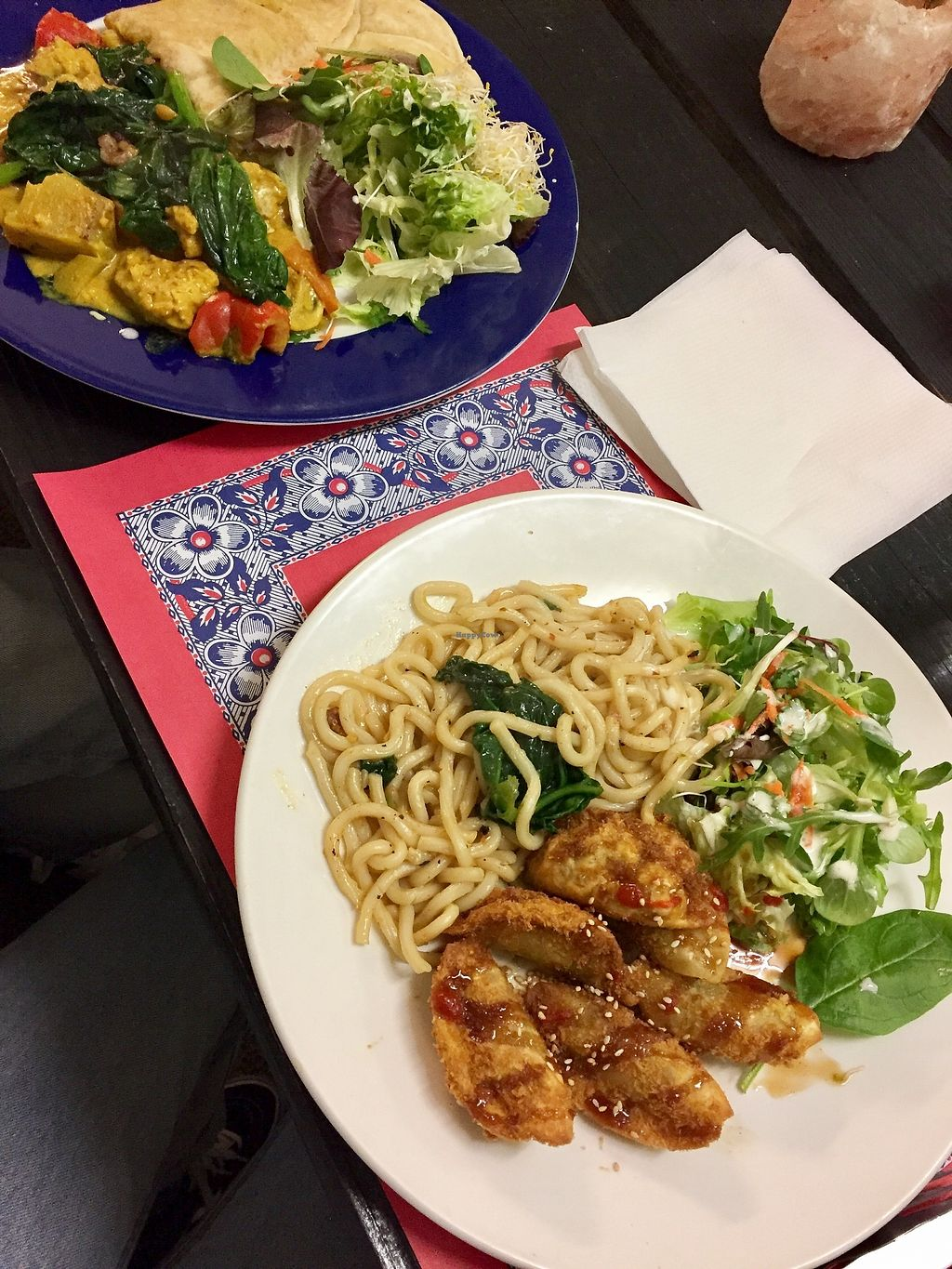 """Photo of TerraZen Centre  by <a href=""""/members/profile/Ricci%26Dez"""">Ricci&Dez</a> <br/>Jamaican plate and gyoza plate <br/> April 1, 2018  - <a href='/contact/abuse/image/29084/379424'>Report</a>"""