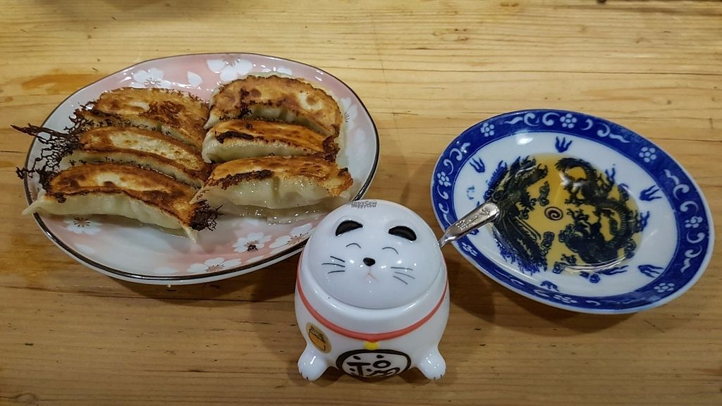 """Photo of Heianraku  by <a href=""""/members/profile/Knoepfchen"""">Knoepfchen</a> <br/>Gyoza <br/> November 2, 2016  - <a href='/contact/abuse/image/29092/186203'>Report</a>"""