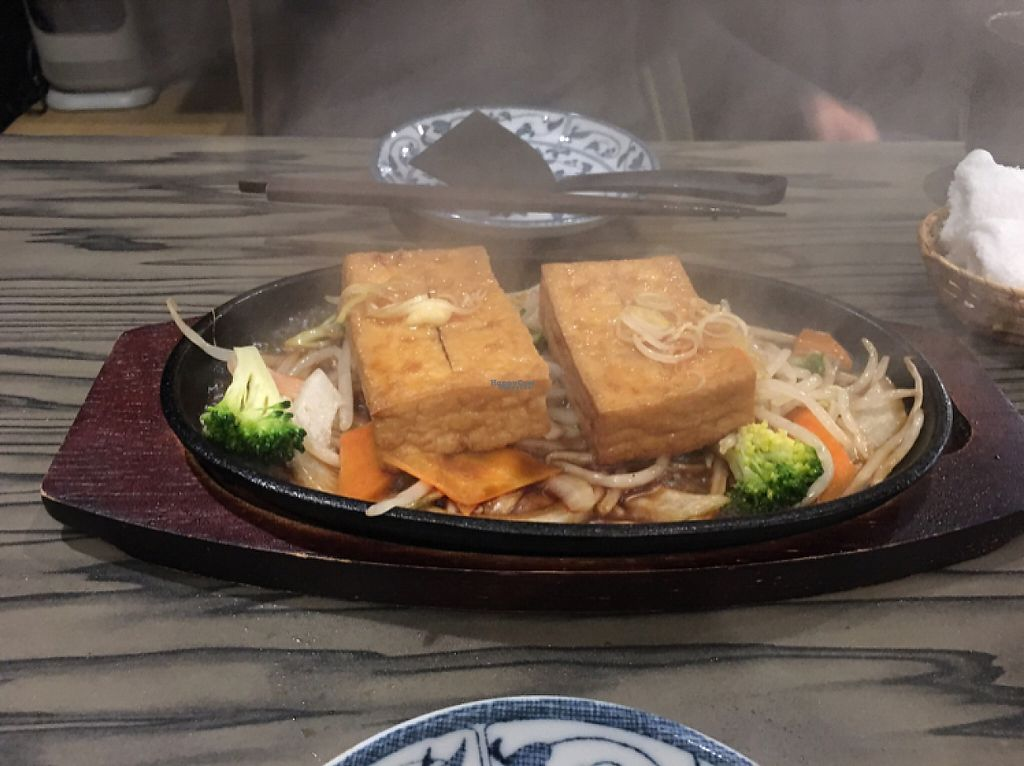 """Photo of Heianraku  by <a href=""""/members/profile/lavender25"""">lavender25</a> <br/>tofu steak <br/> April 11, 2017  - <a href='/contact/abuse/image/29092/246963'>Report</a>"""