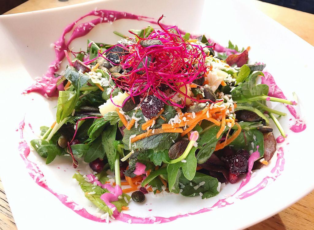 """Photo of EmmaPea Vegan Food and Bar  by <a href=""""/members/profile/dianakey"""">dianakey</a> <br/>Fresh princess salad with rosmary vinaigrette  <br/> September 29, 2017  - <a href='/contact/abuse/image/29099/309720'>Report</a>"""