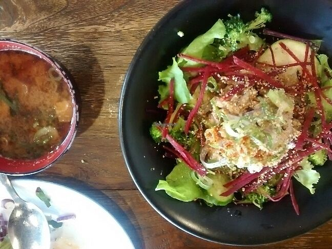 """Photo of Vegans Cafe and Restaurant  by <a href=""""/members/profile/Cam"""">Cam</a> <br/>Natto <br/> June 18, 2017  - <a href='/contact/abuse/image/29114/270304'>Report</a>"""