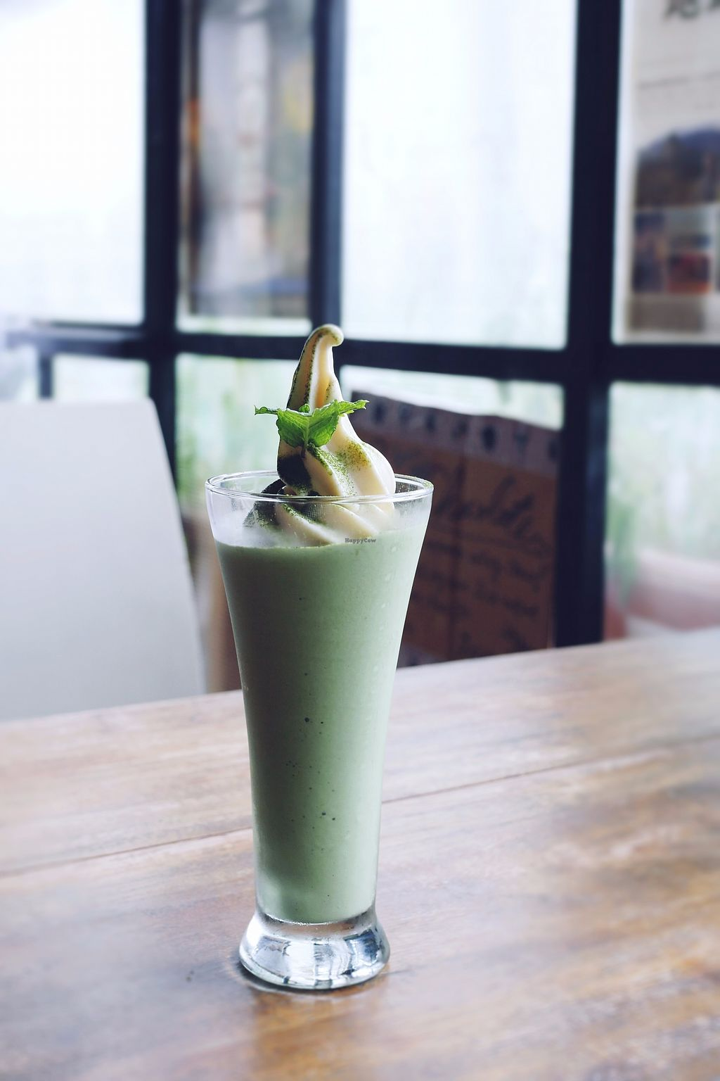 """Photo of Vegans Cafe and Restaurant  by <a href=""""/members/profile/YukiLim"""">YukiLim</a> <br/>Matcha ice cream shake <br/> July 15, 2017  - <a href='/contact/abuse/image/29114/280672'>Report</a>"""