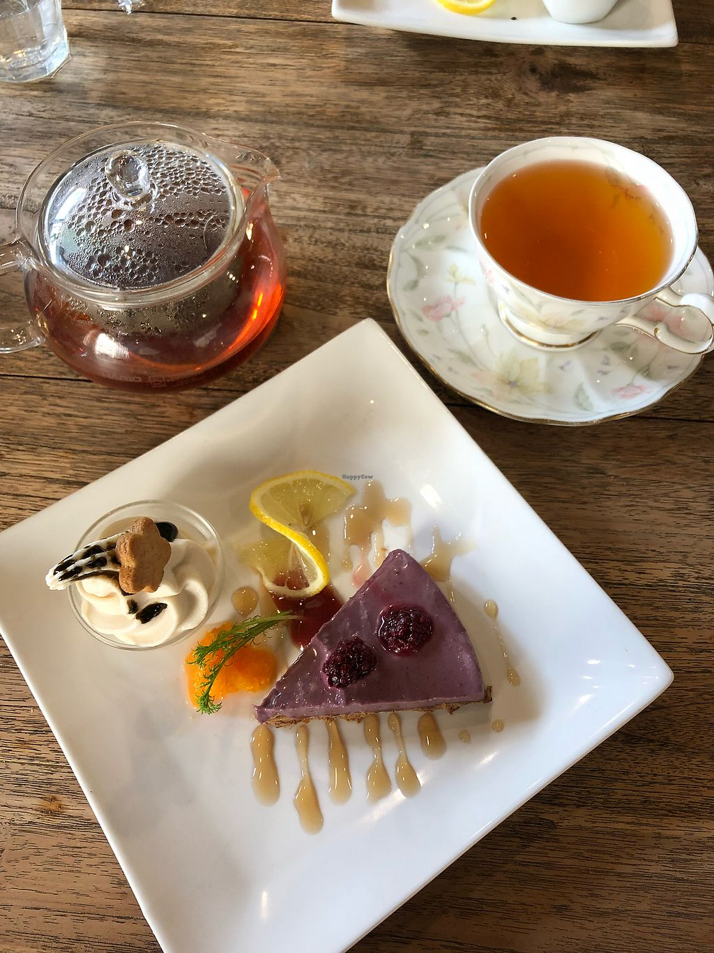 """Photo of Vegans Cafe and Restaurant  by <a href=""""/members/profile/Adalim420"""">Adalim420</a> <br/>Cheesecake was amazing, and so was the ice-cream! <br/> March 13, 2018  - <a href='/contact/abuse/image/29114/370270'>Report</a>"""