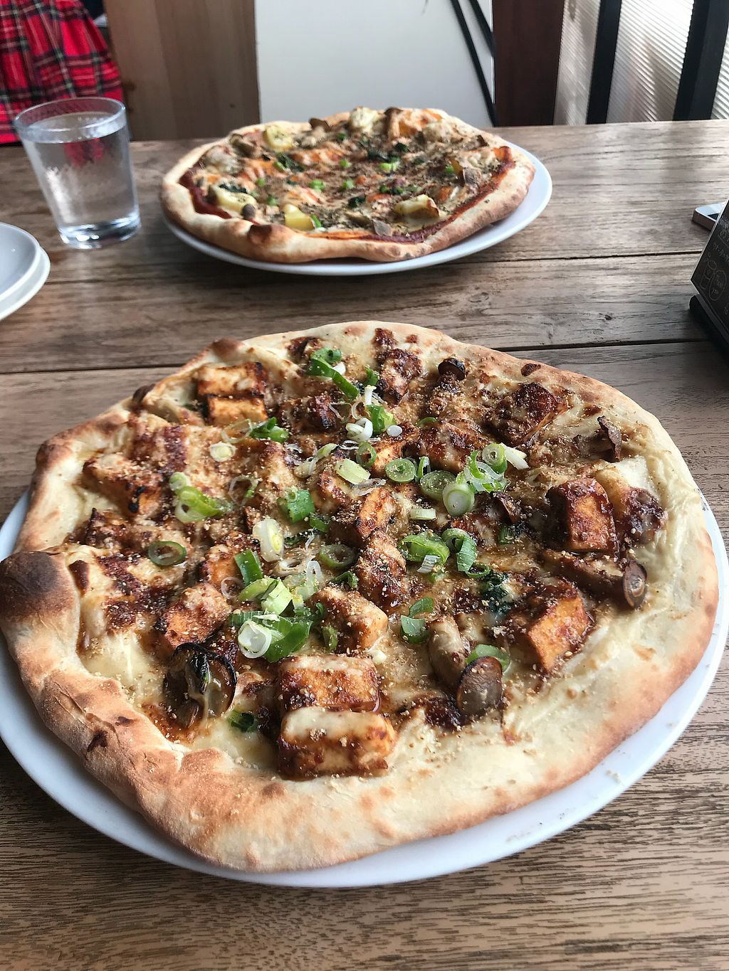 """Photo of Vegans Cafe and Restaurant  by <a href=""""/members/profile/kat.ross"""">kat.ross</a> <br/>pizza! <br/> March 22, 2018  - <a href='/contact/abuse/image/29114/374232'>Report</a>"""