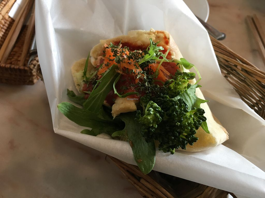 """Photo of Vegans Cafe and Restaurant  by <a href=""""/members/profile/Siup"""">Siup</a> <br/>Hummus pita sandwich  <br/> April 8, 2018  - <a href='/contact/abuse/image/29114/382310'>Report</a>"""