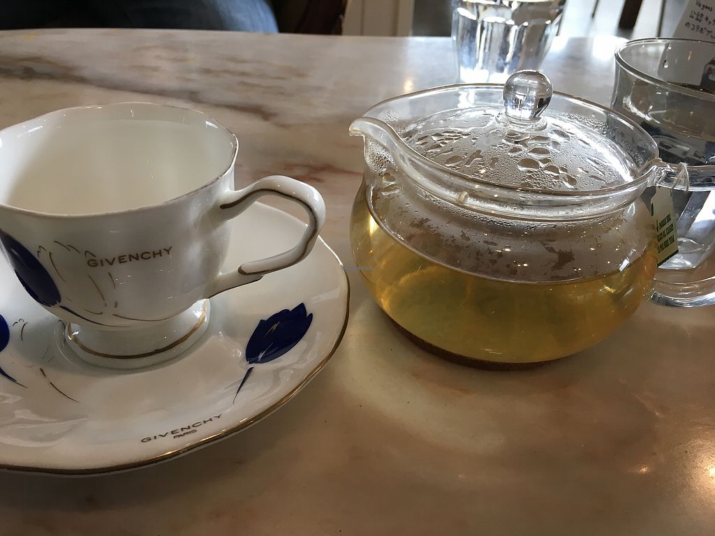 """Photo of Vegans Cafe and Restaurant  by <a href=""""/members/profile/Siup"""">Siup</a> <br/>Mango tea  <br/> April 8, 2018  - <a href='/contact/abuse/image/29114/382312'>Report</a>"""