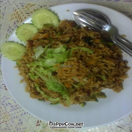 """Photo of CLOSED: Thai Vegetarian  by <a href=""""/members/profile/Grapevine"""">Grapevine</a> <br/>fried petai rice <br/> November 12, 2011  - <a href='/contact/abuse/image/29118/12009'>Report</a>"""