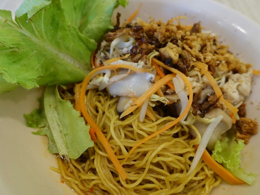 """Photo of CLOSED: Little Prince Cuisine  by <a href=""""/members/profile/JimmySeah"""">JimmySeah</a> <br/>shredded (mock) chicken noodle <br/> June 26, 2016  - <a href='/contact/abuse/image/29136/156192'>Report</a>"""