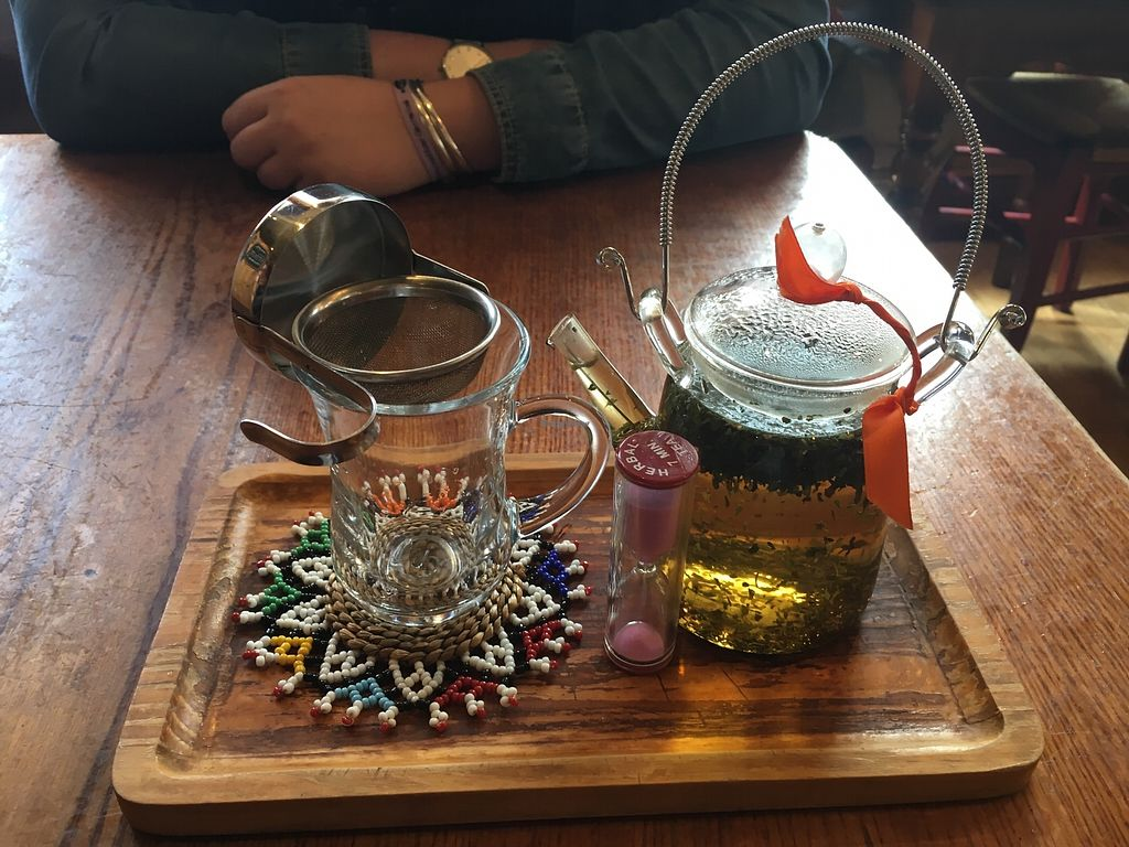 """Photo of Tea Sutra Teahouse  by <a href=""""/members/profile/Imixle"""">Imixle</a> <br/>Peppermint tea  <br/> August 29, 2017  - <a href='/contact/abuse/image/29138/298542'>Report</a>"""
