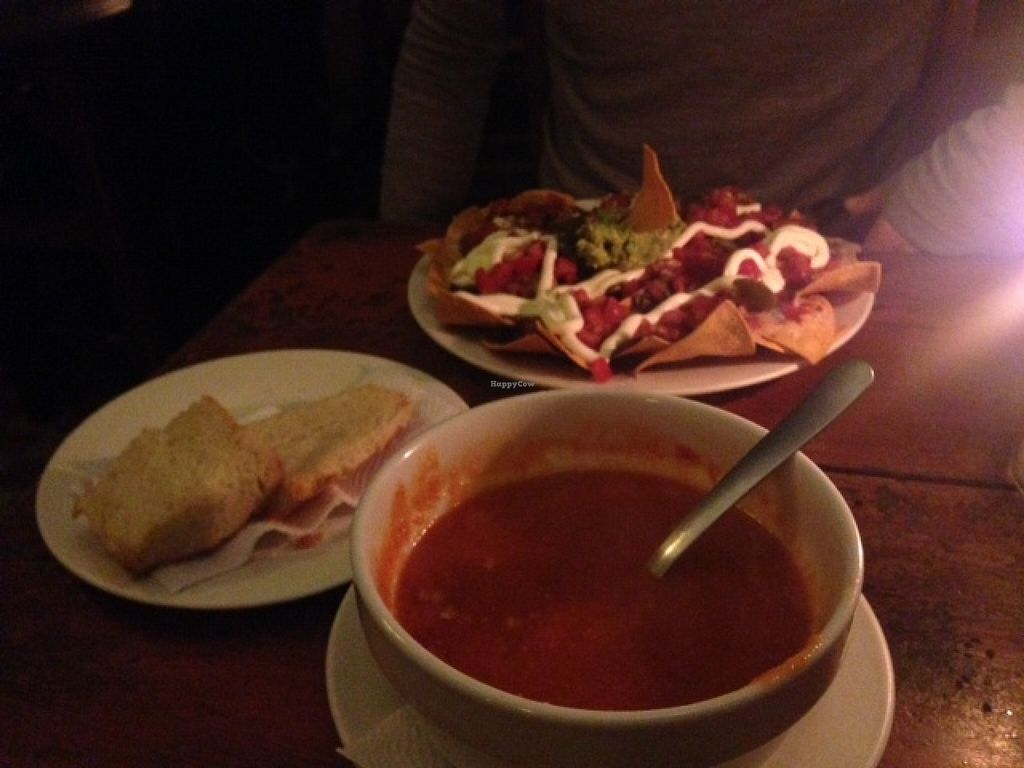 """Photo of Rainbow Cafe  by <a href=""""/members/profile/Ritalin"""">Ritalin</a> <br/>Soup and Nachos <br/> September 9, 2015  - <a href='/contact/abuse/image/29156/117136'>Report</a>"""