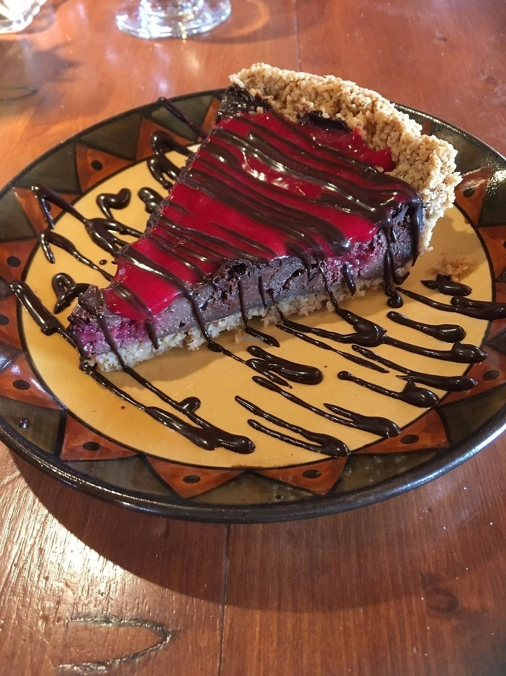 """Photo of Calactus Cafe  by <a href=""""/members/profile/alicer19"""">alicer19</a> <br/>Chocolate Raspberry Pie <br/> April 10, 2017  - <a href='/contact/abuse/image/2916/246705'>Report</a>"""