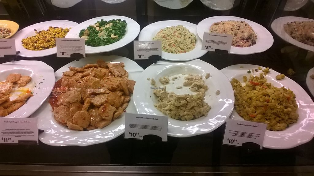 """Photo of Earth Fare - Tallahassee  by <a href=""""/members/profile/carmencricket"""">carmencricket</a> <br/>Vegan options at the deli <br/> March 29, 2016  - <a href='/contact/abuse/image/29194/141820'>Report</a>"""
