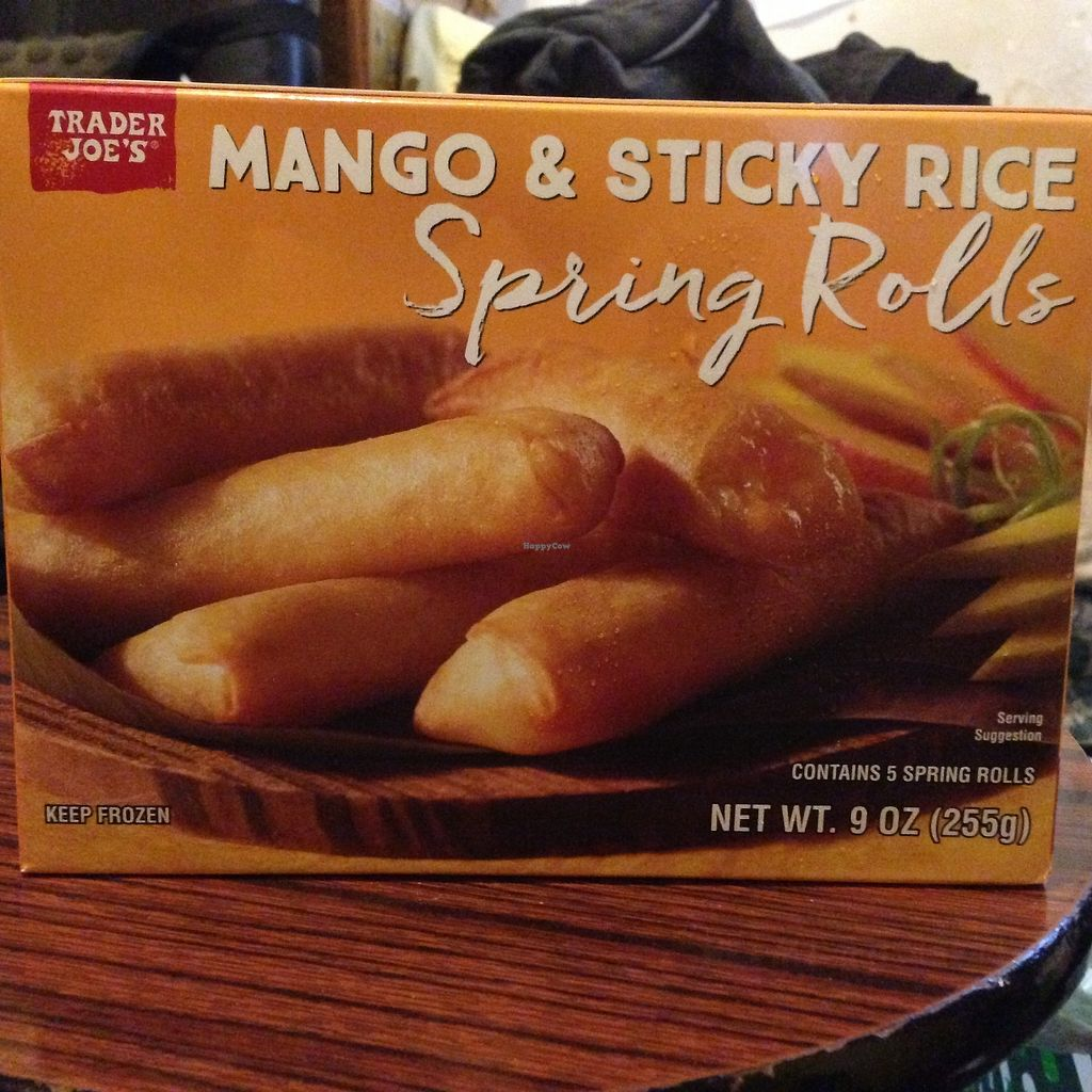 """Photo of Trader Joe's - Masonic Ave  by <a href=""""/members/profile/rchau"""">rchau</a> <br/>Mango and sticky rice at Trader Joes Masonic.   I'm sure it's in other SF TJ locations as well.  <br/> August 13, 2017  - <a href='/contact/abuse/image/29205/292430'>Report</a>"""