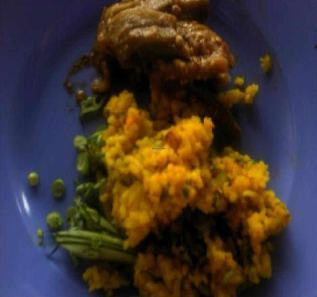 """Photo of Ren Ci Global Village - Bukit Mertajam  by <a href=""""/members/profile/Grapevine"""">Grapevine</a> <br/>nasi ulam/fresh local herbal blended with turmeric rice  <br/> November 20, 2011  - <a href='/contact/abuse/image/29208/194346'>Report</a>"""
