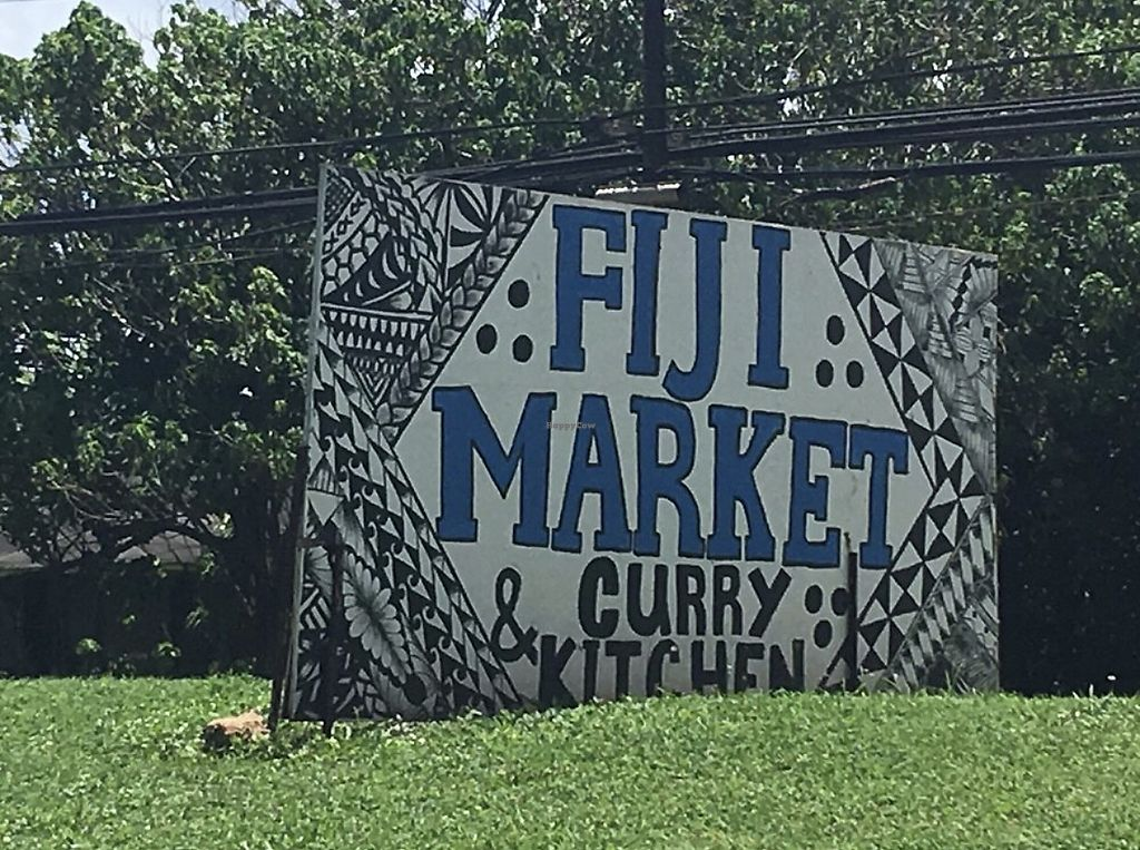 """Photo of Fiji Market and Curry Shop  by <a href=""""/members/profile/ashlinmichelle7"""">ashlinmichelle7</a> <br/>Sign outside <br/> April 20, 2018  - <a href='/contact/abuse/image/29238/388374'>Report</a>"""