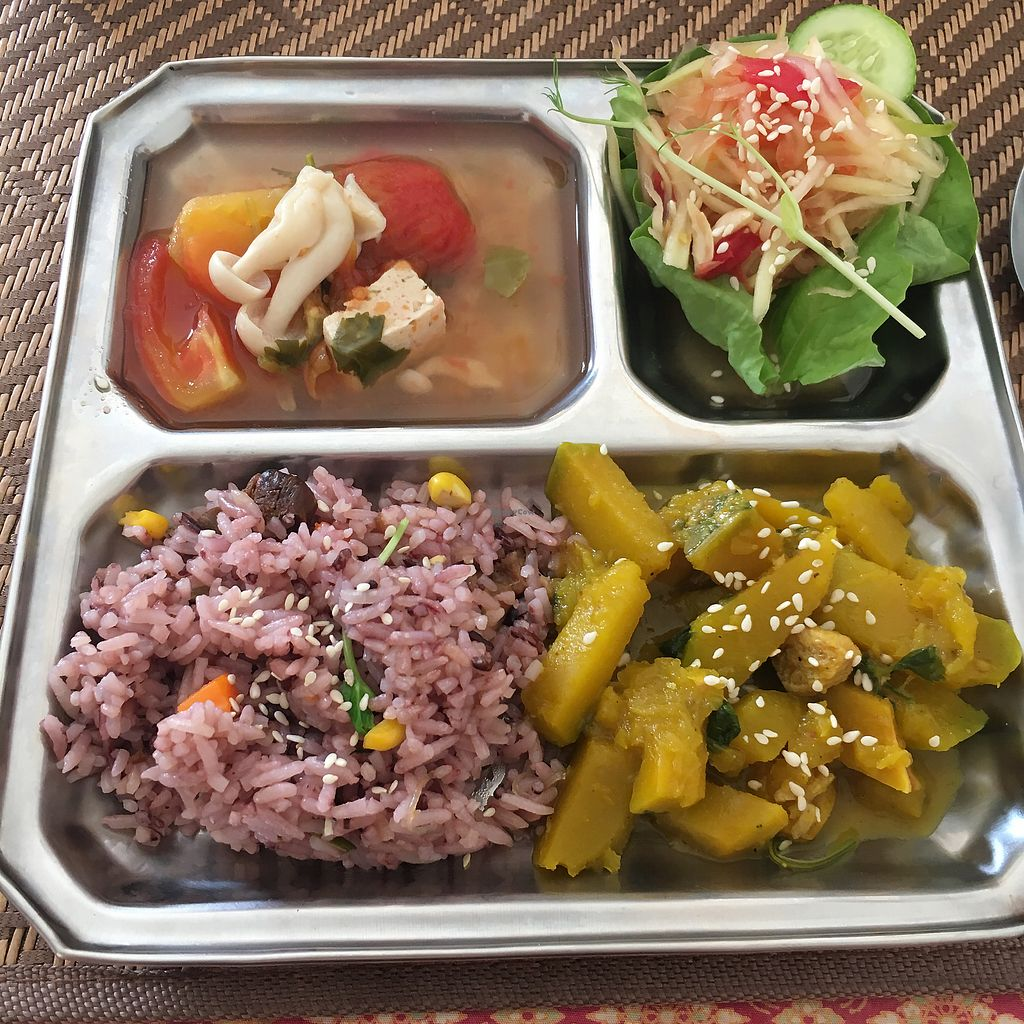 "Photo of Lamai Veggie  by <a href=""/members/profile/MeganHynes"">MeganHynes</a> <br/>One of the delicious menu sets <br/> August 8, 2017  - <a href='/contact/abuse/image/29279/290405'>Report</a>"