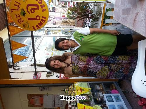 "Photo of Lamai Veggie  by <a href=""/members/profile/radtechg9"">radtechg9</a> <br/>With Bee the owner <br/> November 14, 2013  - <a href='/contact/abuse/image/29279/58473'>Report</a>"
