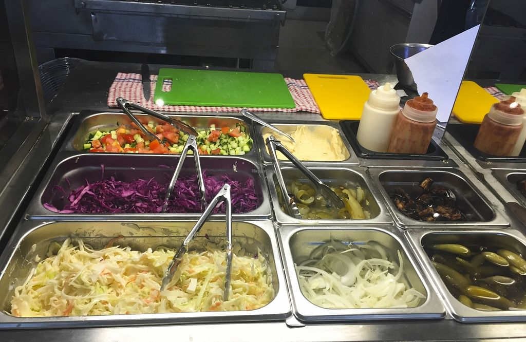 """Photo of Zavdiel's Pita Bakery  by <a href=""""/members/profile/karlaess"""">karlaess</a> <br/>Salad bar <br/> November 15, 2015  - <a href='/contact/abuse/image/29280/125023'>Report</a>"""