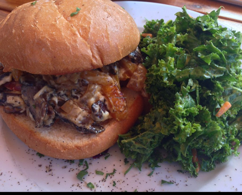 """Photo of CLOSED: A N D Cafe  by <a href=""""/members/profile/SummerLee"""">SummerLee</a> <br/>to die for deliciousness... portobello cheese 'steak' <br/> October 4, 2015  - <a href='/contact/abuse/image/29296/120247'>Report</a>"""