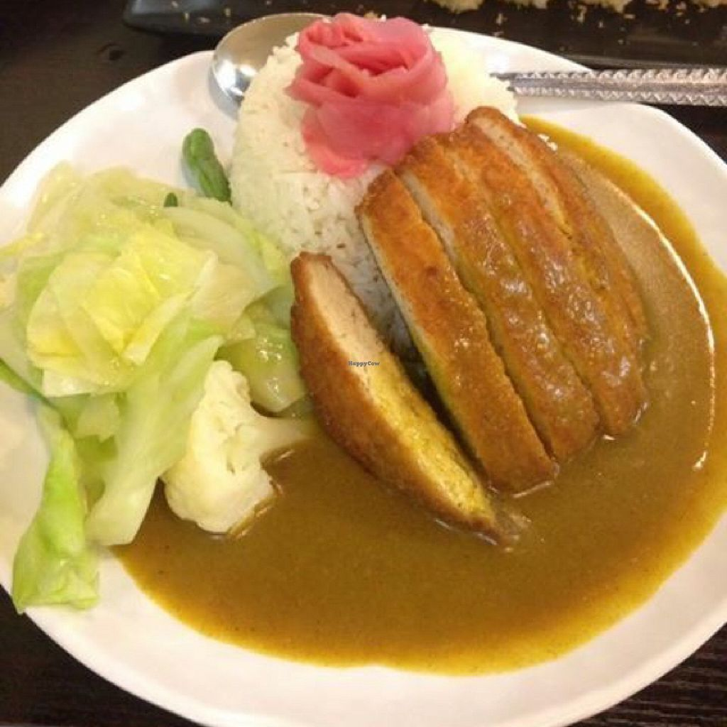 "Photo of Ying Vegetarian  by <a href=""/members/profile/TimmyVegan"">TimmyVegan</a> <br/>Japanese chicken and rice lunch set <br/> October 6, 2015  - <a href='/contact/abuse/image/29307/120379'>Report</a>"