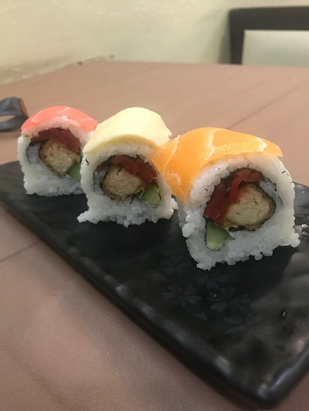 "Photo of Ying Vegetarian  by <a href=""/members/profile/edwardbc"">edwardbc</a> <br/>Sushi  <br/> March 4, 2018  - <a href='/contact/abuse/image/29307/366669'>Report</a>"