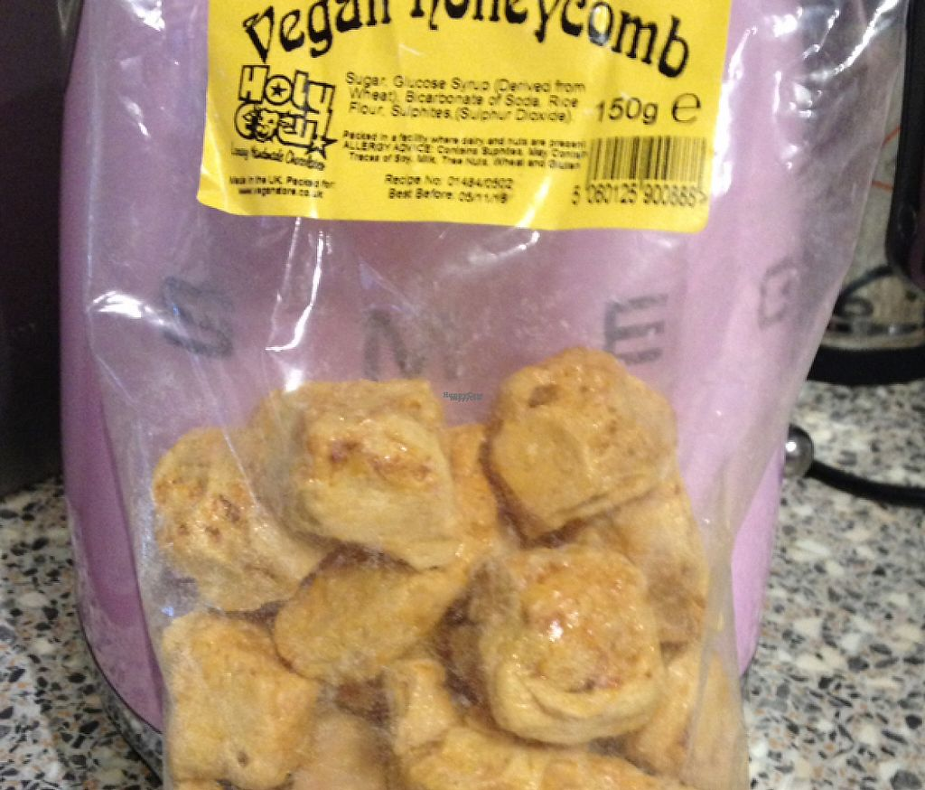 "Photo of Just Green  by <a href=""/members/profile/TammaraVisser"">TammaraVisser</a> <br/>Vegan Honeycomb !! Yummo !  <br/> October 6, 2016  - <a href='/contact/abuse/image/29318/251625'>Report</a>"