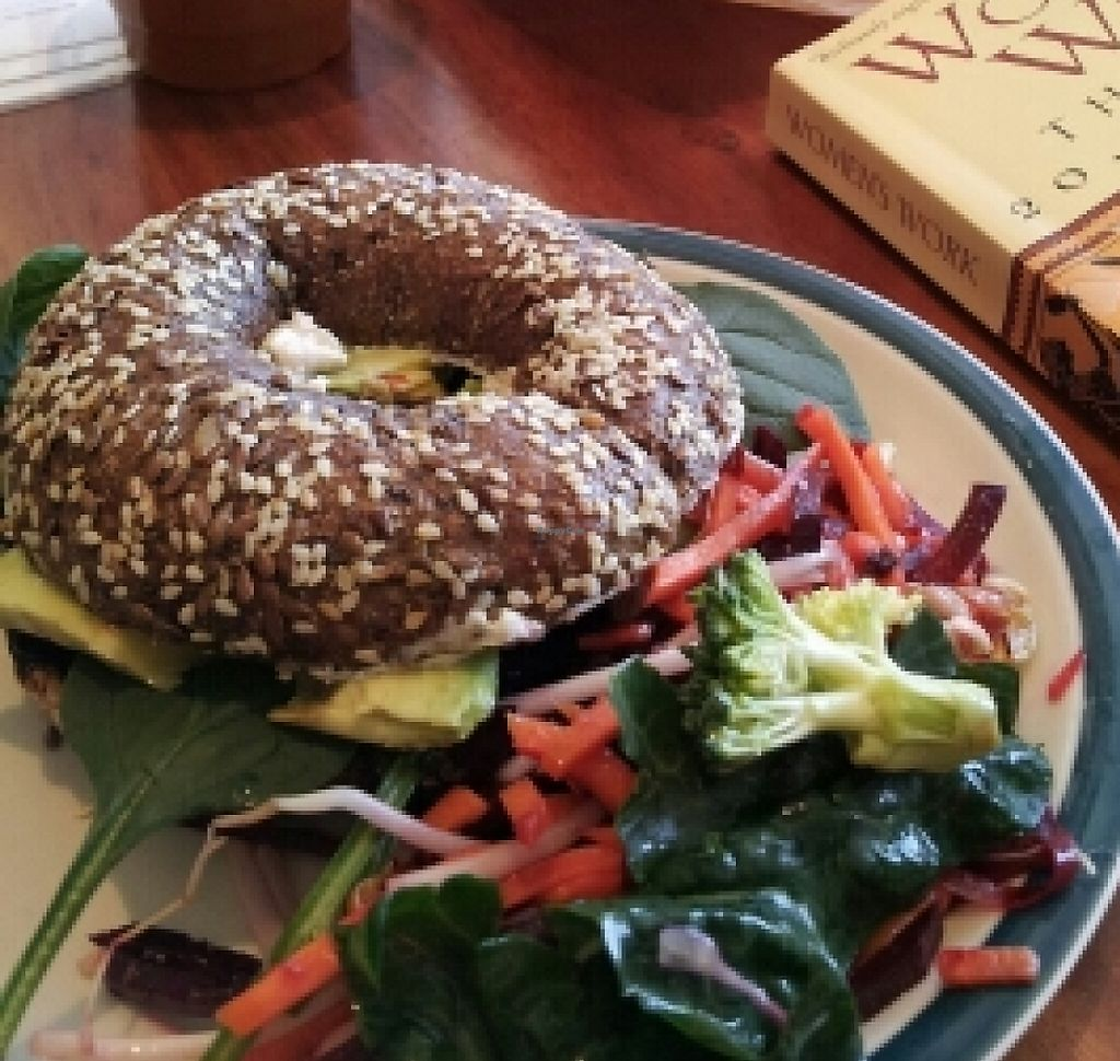 """Photo of Veggie Mama  by <a href=""""/members/profile/cseneque"""">cseneque</a> <br/>Breakfast bagel <br/> December 4, 2015  - <a href='/contact/abuse/image/29321/194781'>Report</a>"""