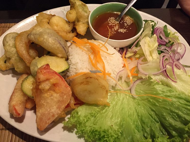 """Photo of Samadhi  by <a href=""""/members/profile/LinkaWensveen"""">LinkaWensveen</a> <br/>Tempura veggies <br/> October 16, 2016  - <a href='/contact/abuse/image/2933/182485'>Report</a>"""