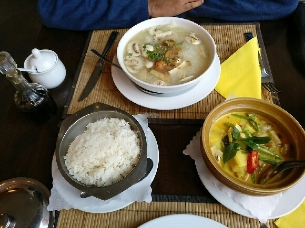 """Photo of Samadhi  by <a href=""""/members/profile/Shanthi"""">Shanthi</a> <br/>grandma's speciality soup and pineapple curry <br/> January 3, 2017  - <a href='/contact/abuse/image/2933/207546'>Report</a>"""