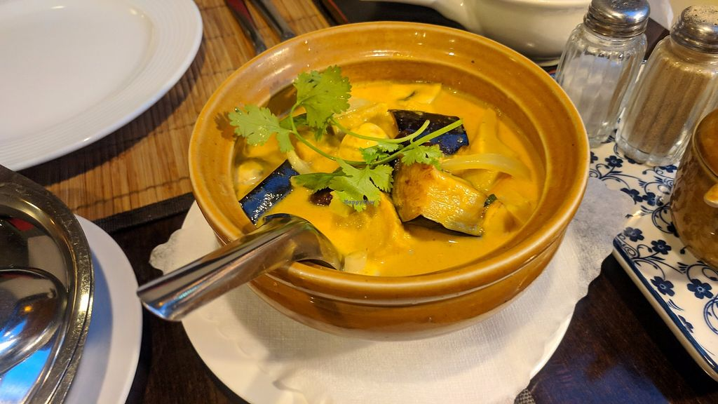 """Photo of Samadhi  by <a href=""""/members/profile/SaraMarkic"""">SaraMarkic</a> <br/>aubergine tofu in coconut sauce <br/> December 5, 2017  - <a href='/contact/abuse/image/2933/332671'>Report</a>"""