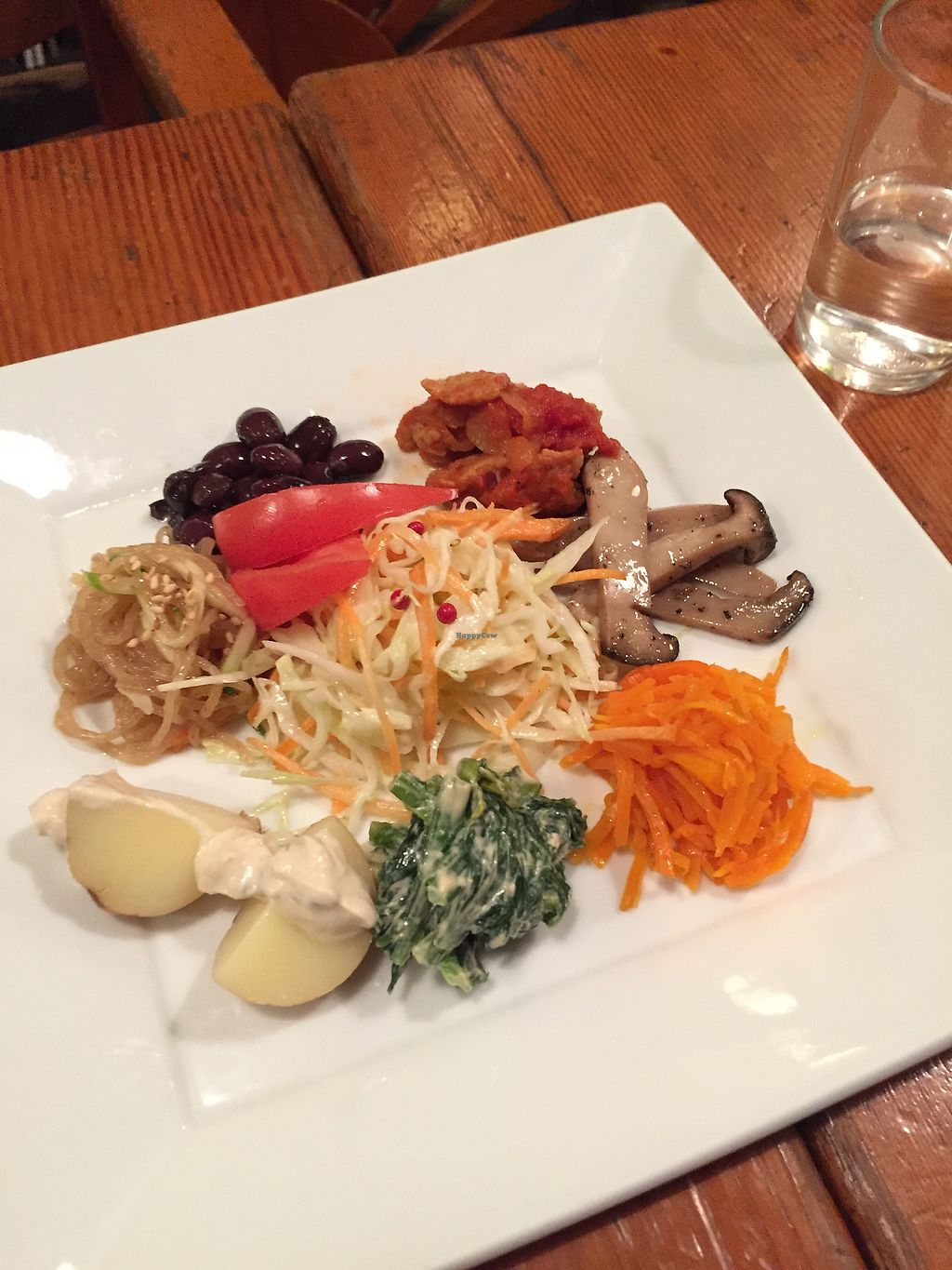 """Photo of Mominoki House  by <a href=""""/members/profile/roosaloo"""">roosaloo</a> <br/>vege dish as part of set C <br/> July 6, 2017  - <a href='/contact/abuse/image/2935/277044'>Report</a>"""