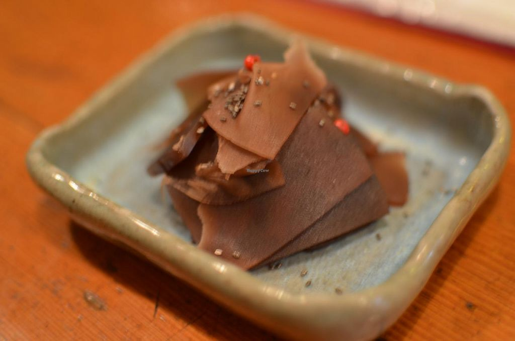 """Photo of Mominoki House  by <a href=""""/members/profile/chocoholicPhilosophe"""">chocoholicPhilosophe</a> <br/>Sweet red-bean jelly <br/> March 2, 2015  - <a href='/contact/abuse/image/2935/94623'>Report</a>"""