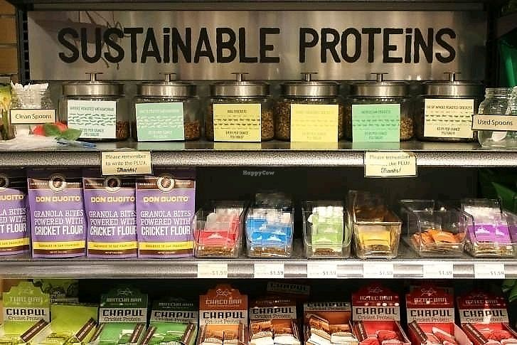 """Photo of Mom's Organic Market  by <a href=""""/members/profile/KimRodriguez"""">KimRodriguez</a> <br/>sustainable proteins <br/> February 21, 2018  - <a href='/contact/abuse/image/29370/362059'>Report</a>"""
