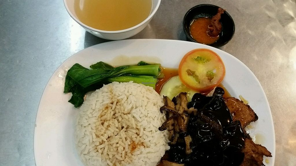 "Photo of Vegetarian Villas  by <a href=""/members/profile/JimmySeah"">JimmySeah</a> <br/>sesame oil chicken rice <br/> November 12, 2017  - <a href='/contact/abuse/image/29376/324725'>Report</a>"
