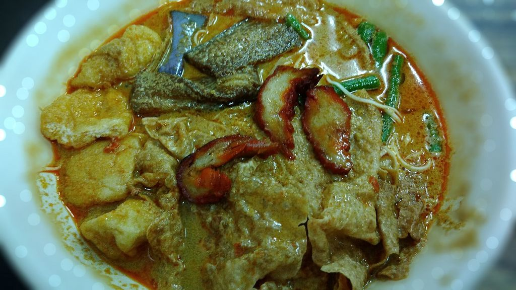 """Photo of Yin Futt Kuok Vegetarian Restaurant  by <a href=""""/members/profile/ChoyYuen"""">ChoyYuen</a> <br/>Curry noodles <br/> April 10, 2018  - <a href='/contact/abuse/image/29426/383199'>Report</a>"""