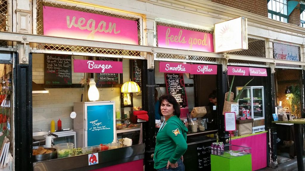 "Photo of CLOSED: Sun Day Burgers - Markthalle Neun  by <a href=""/members/profile/SeanVegano"">SeanVegano</a> <br/>Go Vegan  <br/> June 21, 2015  - <a href='/contact/abuse/image/29435/106703'>Report</a>"