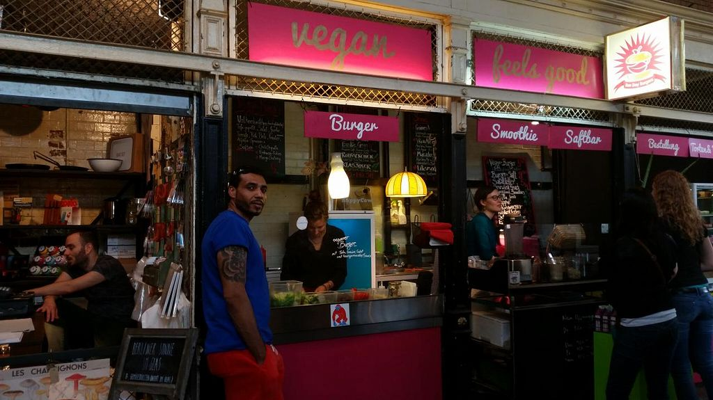 "Photo of CLOSED: Sun Day Burgers - Markthalle Neun  by <a href=""/members/profile/SeanVegano"">SeanVegano</a> <br/> June 21, 2015  - <a href='/contact/abuse/image/29435/106708'>Report</a>"