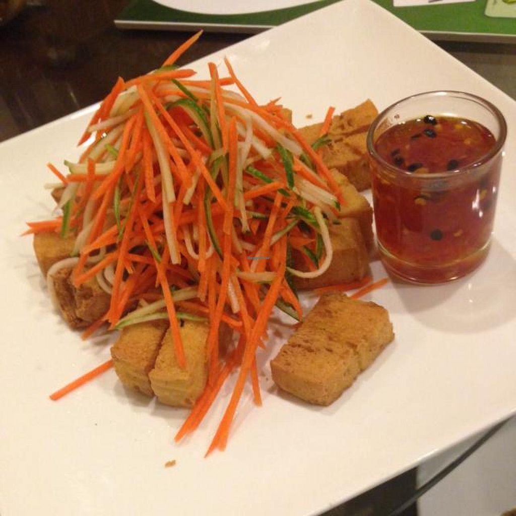 """Photo of The Origin  by <a href=""""/members/profile/AndyT"""">AndyT</a> <br/>Tofu with Thai sauce <br/> April 3, 2014  - <a href='/contact/abuse/image/29461/66959'>Report</a>"""
