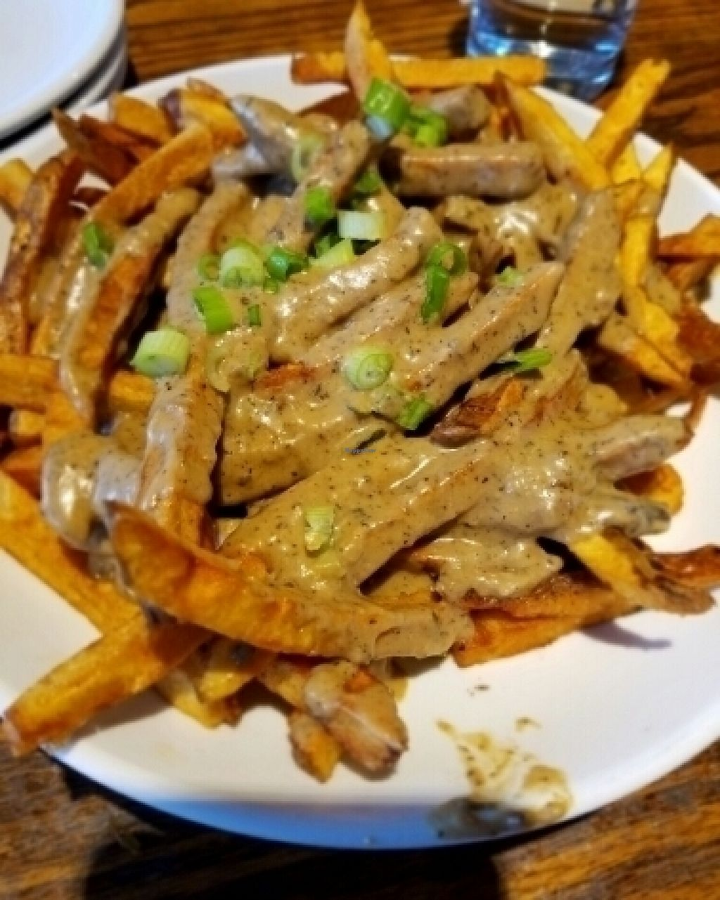 """Photo of Franktuary  by <a href=""""/members/profile/kennethbass"""">kennethbass</a> <br/>Vegan poutine <br/> July 30, 2016  - <a href='/contact/abuse/image/29464/163510'>Report</a>"""