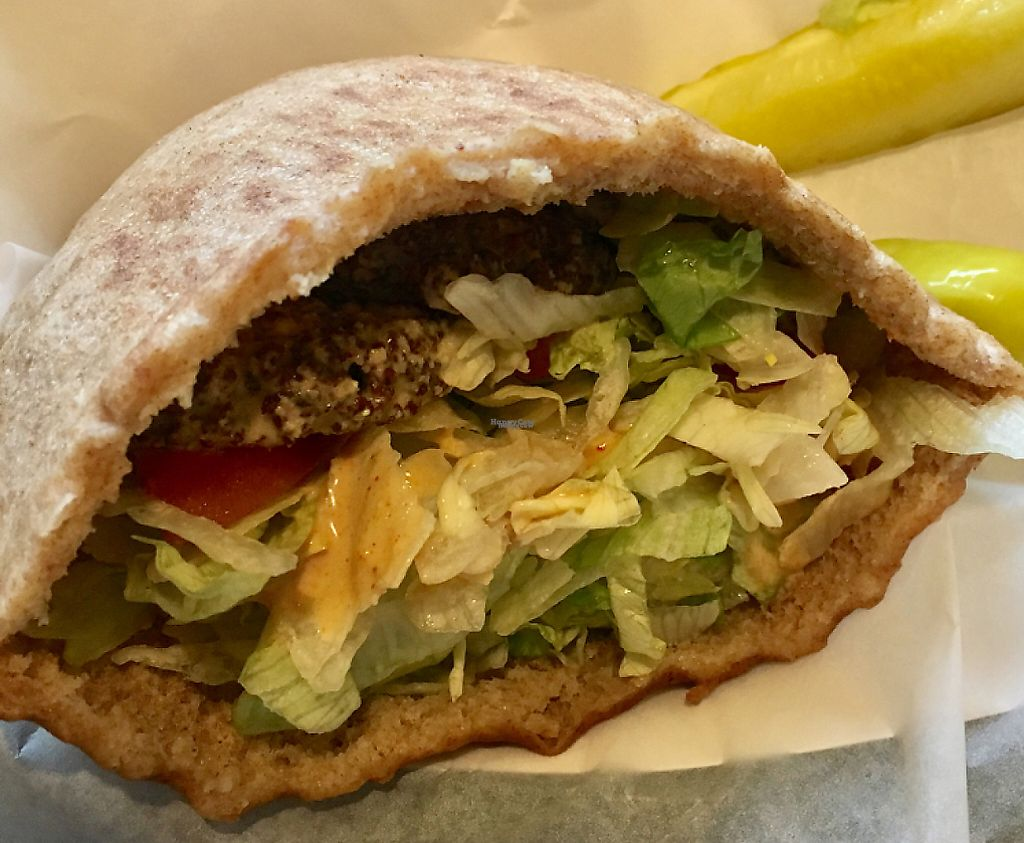 """Photo of Pita Delite  by <a href=""""/members/profile/johnk"""">johnk</a> <br/>The best falafel pita I have ever eaten! <br/> December 6, 2016  - <a href='/contact/abuse/image/29473/215195'>Report</a>"""
