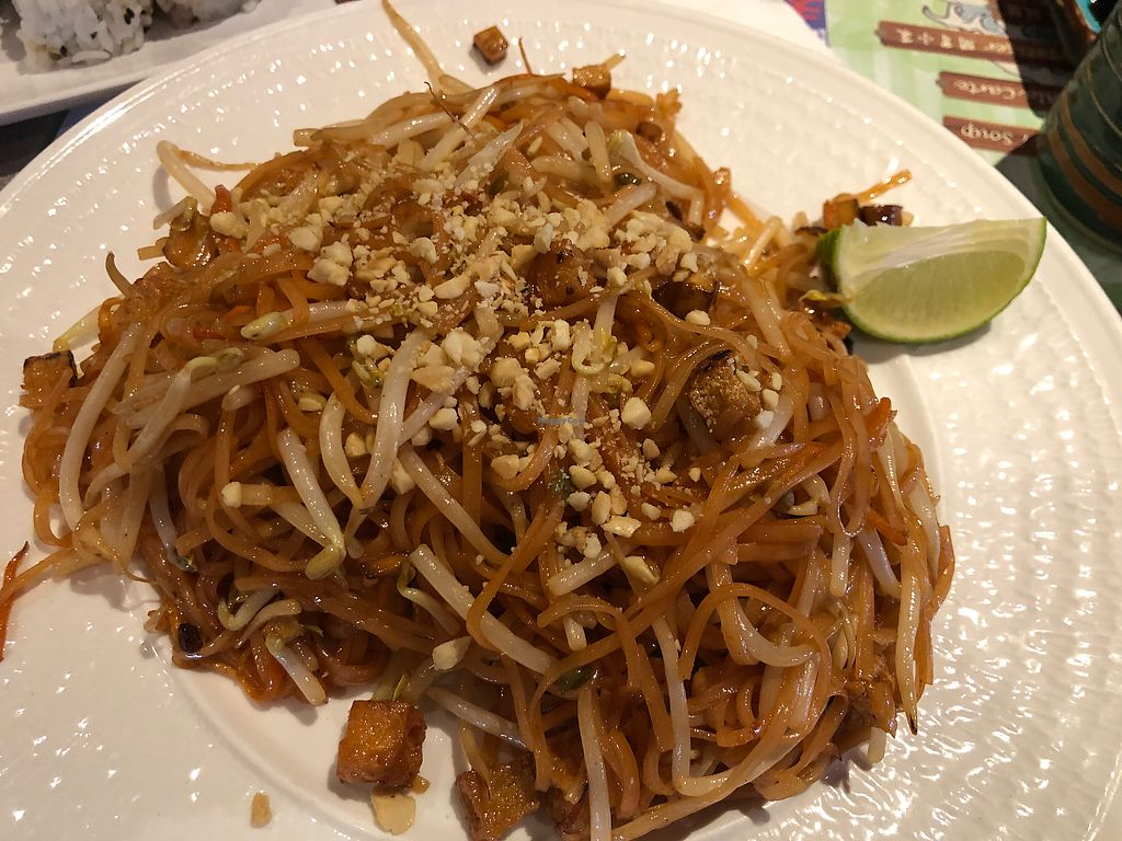 "Photo of Tenon Vegetarian Cuisine  by <a href=""/members/profile/gwild"">gwild</a> <br/>Pad Thai <br/> March 14, 2018  - <a href='/contact/abuse/image/29489/370678'>Report</a>"